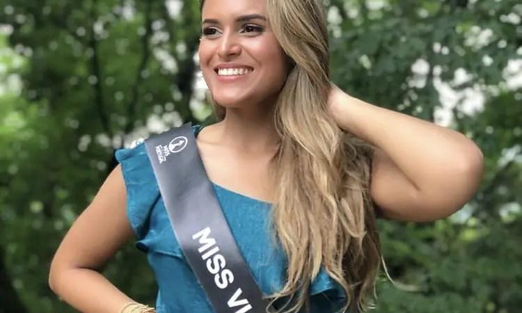 Venezolana se alza con el título de Miss Earth Portugal 2021