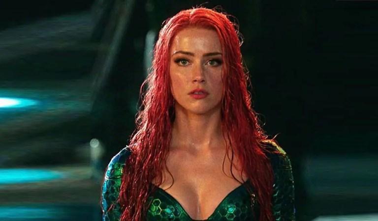 Amber Heard comparte el video de entrenamiento de Aquaman 2