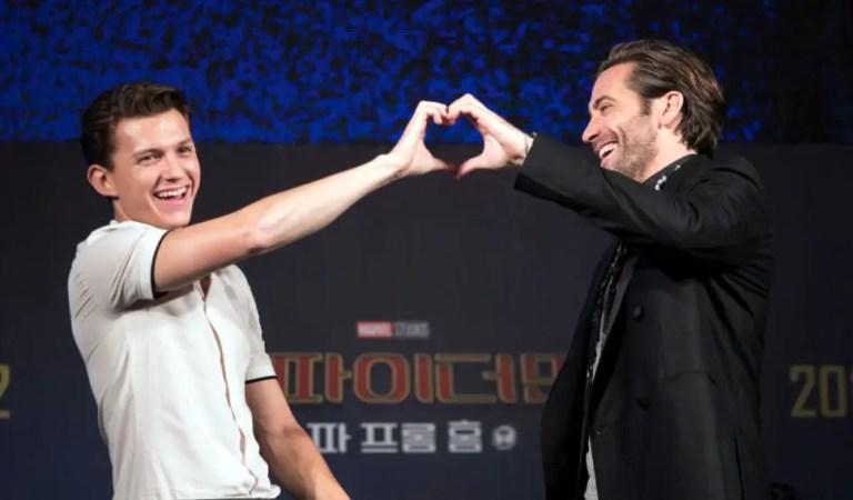Jake Gyllenhaal celebra el cumpleaños de Tom Holland con unaimagen de Spider-Man: Far From Home