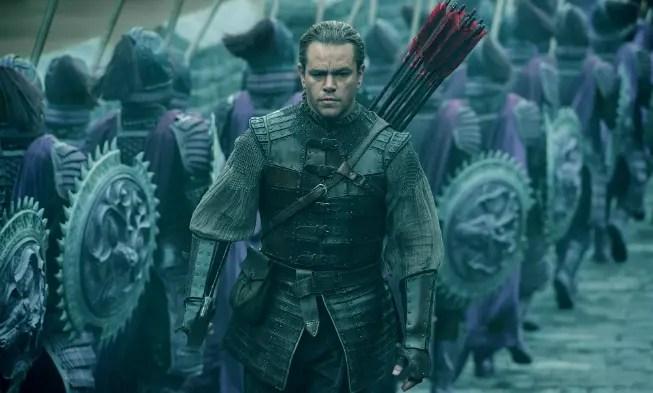 Matt Damon admite que La Gran Muralla fue un desastre en su carrera