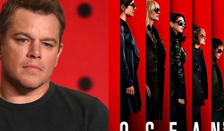 Matt Damon habla de si volvería o no para un Ocean's 14