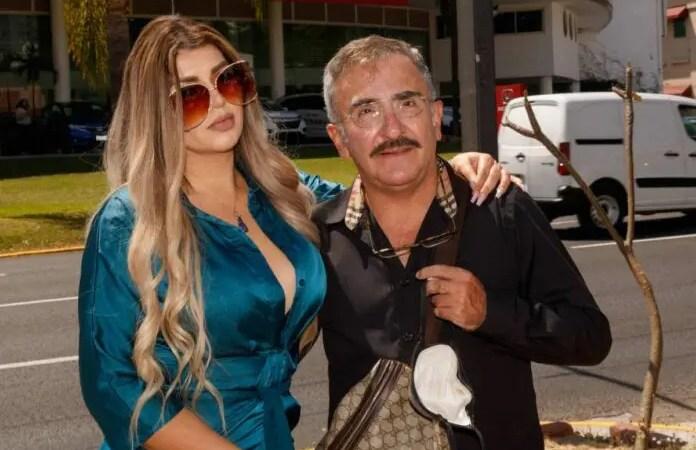 Vicente Fernández defiende a su novia de los delitos que la acusan