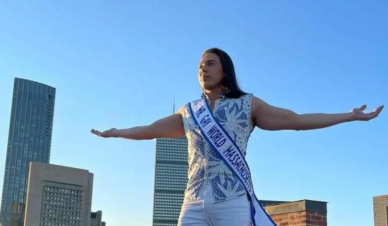 Venezolano Kresley Morales compite en el concurso Mr Gay World USA