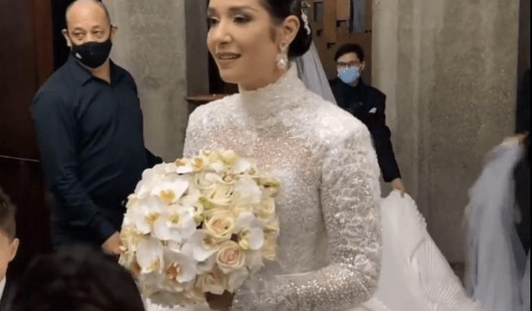 ¡Enhorabuena! Así fue la boda eclesiástica de Daniela Alvarado y José Manuel Suárez [VIDEOS]
