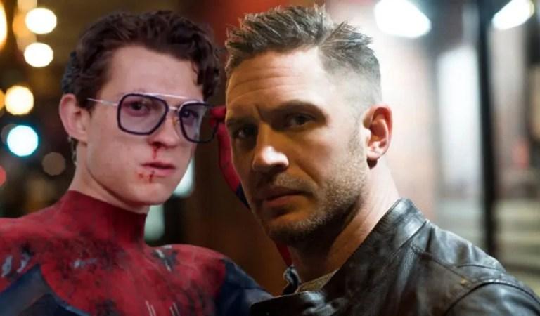 Tom Hardy explica confusamente cómo se conectan las películas de Venom y Spider-Man
