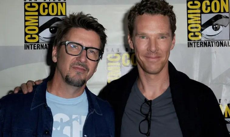 Benedict Cumberbatch estaba triste por la marcha del director de Scott Derrickson