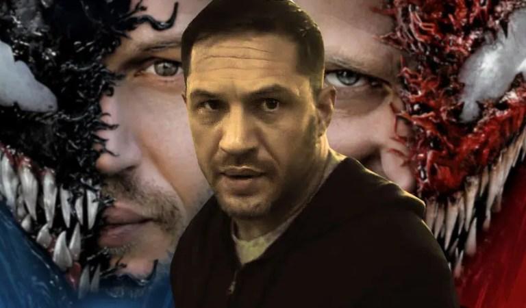 Lo que significa para Tom Hardy el crédito de escritor de Venom 2