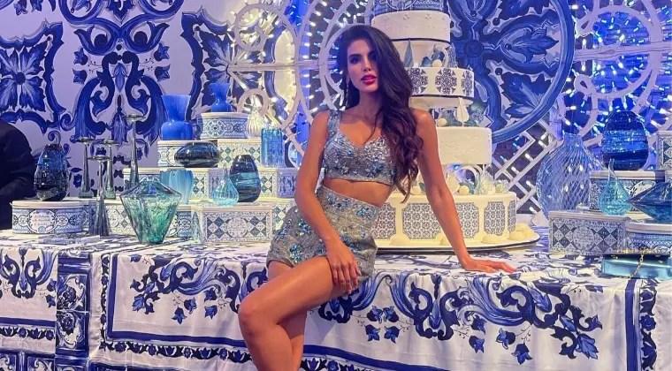En el desfile de Dolce & Gabbana: Michell Roxana fue la invitada especial