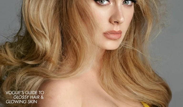 #LaFotoDelDia: Adele para la portada de Vogue 🥰