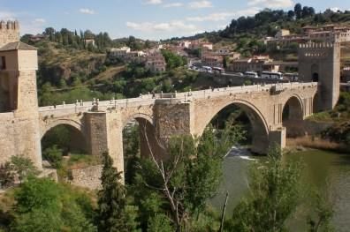 Puente de San Martin sobre el río Tajo