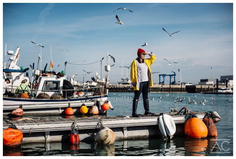 Puerto pesquero de Chipiona