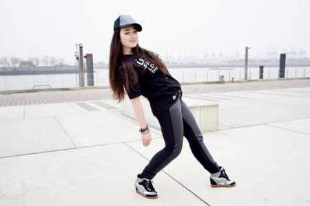 Outfit von Elfashion. Hip Hop Style. Das bad Girl