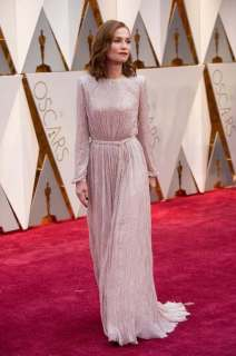 Oscar®-nominee Isabell Huppert arrives at The 89th Oscars® at the Dolby® Theatre in Hollywood, CA on Sunday, February 26, 2017.