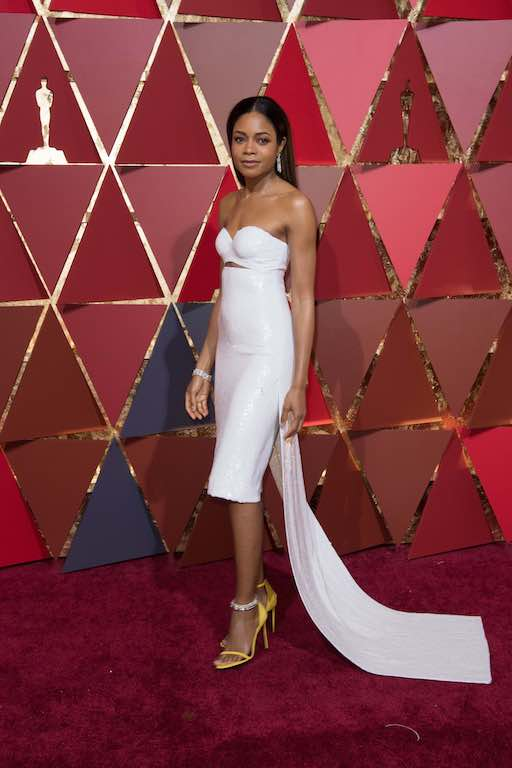 Naomie Harris, Oscar® nominee, arrives on the red carpet of The 89th Oscars® at the Dolby® Theatre in Hollywood, CA on Sunday, February 26, 2017.