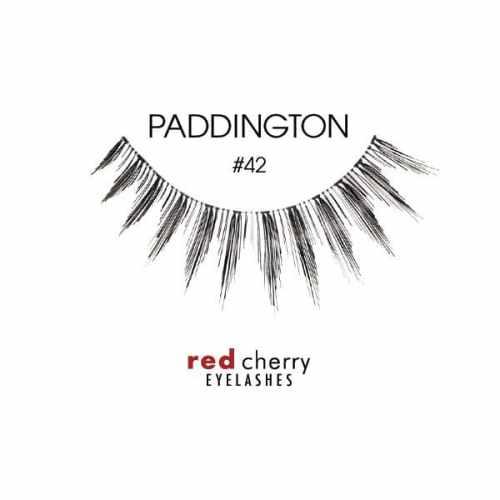 Red Cherry Lashes Style #42 (Paddington) 01