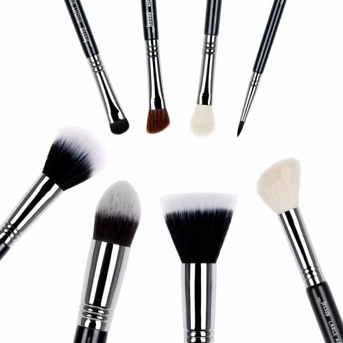 Jessup Pro Brushes Set Black Silver T120