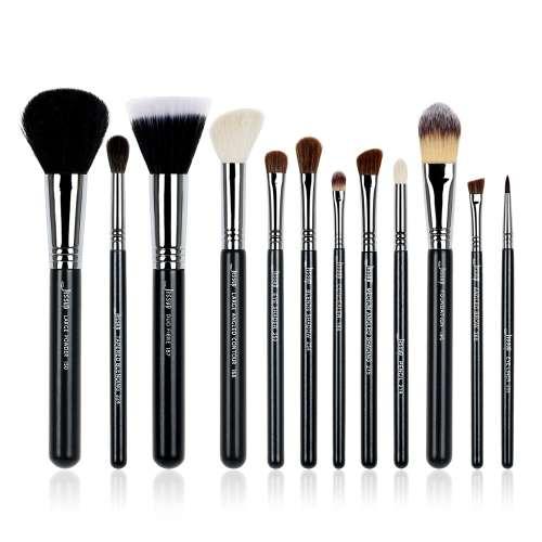 Jessup Pro Brushes Set Black Silver T129