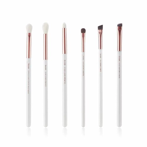 Jessup Individual Brushes Set White Rose gold T221