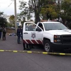 Ciudadano embiste a moto ladrón que le robo el celular a su hermano