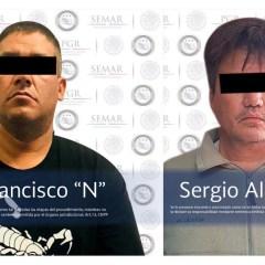 Fueron detenidos hace años y nuevamente aprehenden a dos integrantes del CJNG