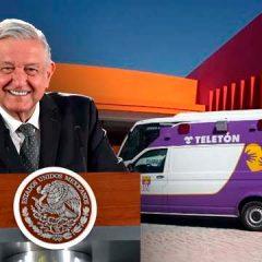 Plantea López Obrador usar centros TELETÓN