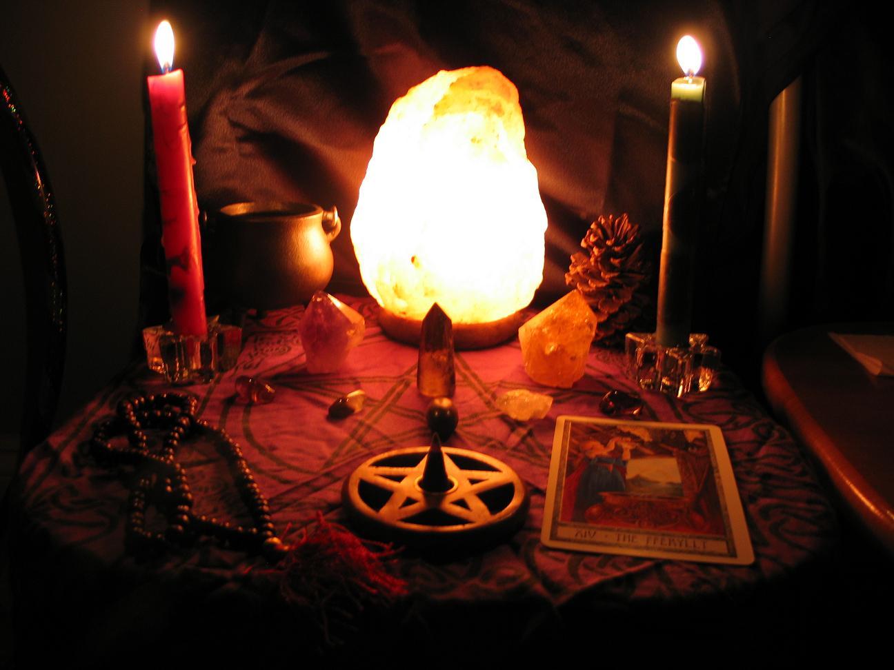altar-candlelit
