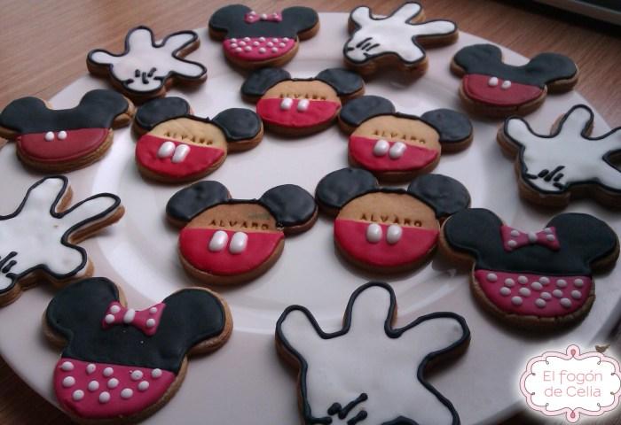 Mickey Y Minnie Mouse El Fogón De Celia