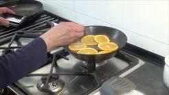 freímos las naranjas