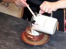 preparamos la salsa mascarpone