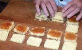 Pastelitos de Mantequilla con fideos de Chocolate16