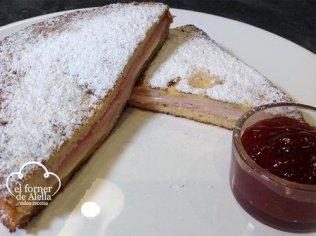 Sandwich Monte Cristo dulce