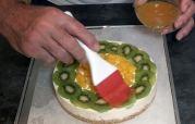 Damos brillo a la tarta