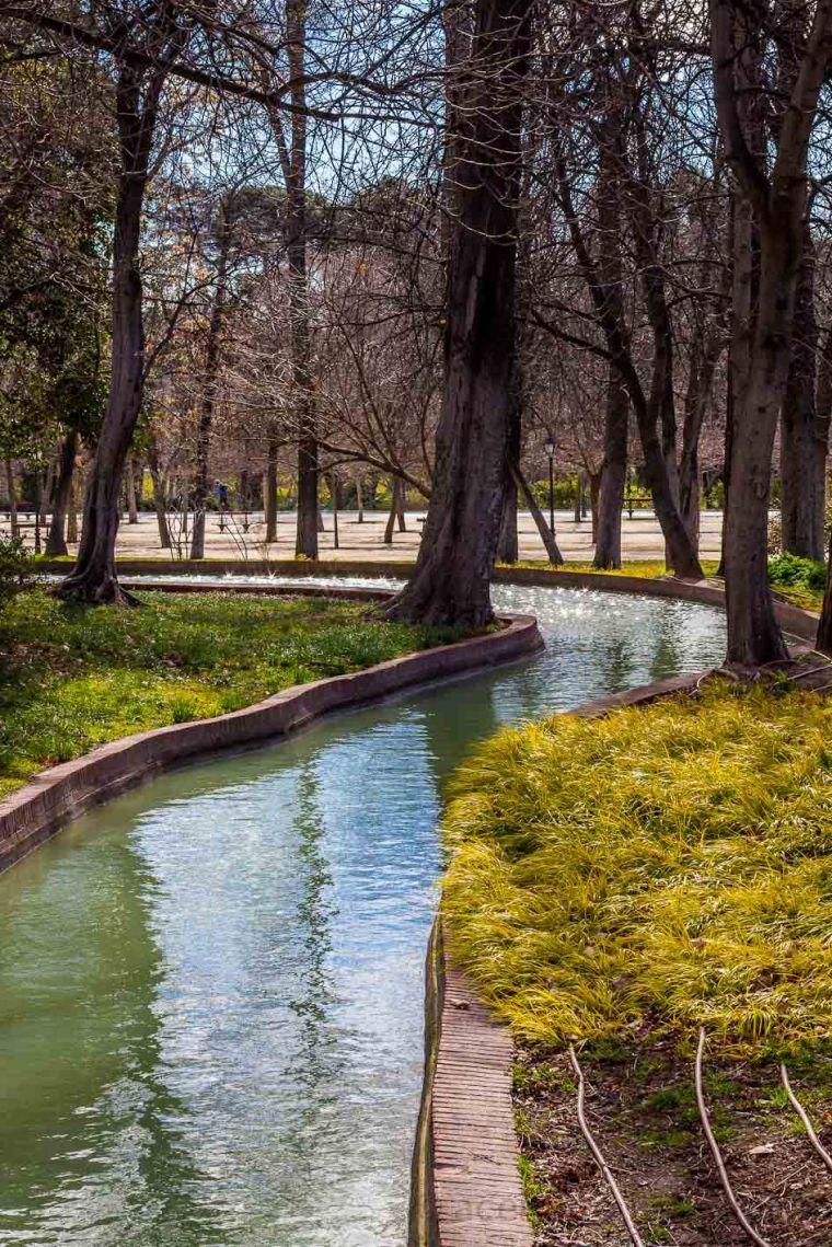 Parque del Retiro, Madrid, febrero de 2015. Fotógrafo: Daniel Ramos.