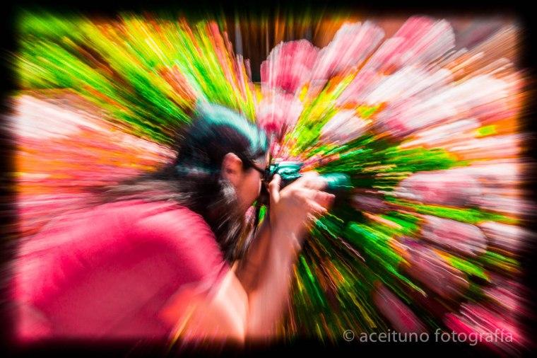 Vilma en Madrid, mayo de 2015. Fotógrafo: Daniel Ramos. La Rosaleda.