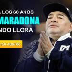 Diego Armando Maradona fallece a sus 60 años en Argentina