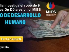 Fiscalía Investiga el robo de 9 Millones De Dólares en el MIES - Bono De Desarrollo Humano