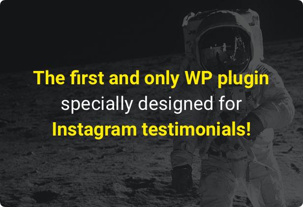 Instagram Testimonials Plugin for WordPress - 1