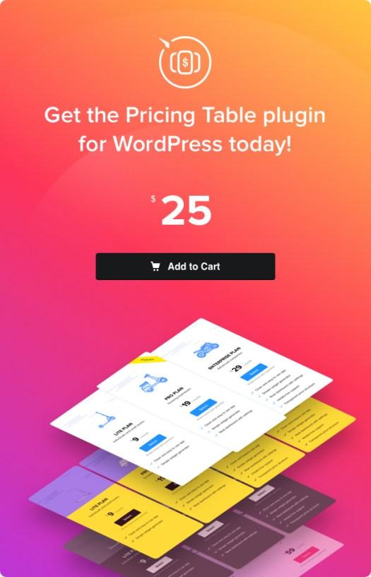 WordPress Pricing Table Plugin - 14