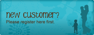 New customer? Please register here first.