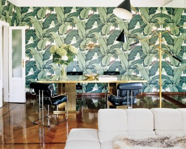 Brian Atwood Milan apartment via The decorator