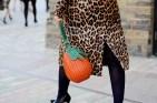 Nasiba Adilova with her pineapple bag