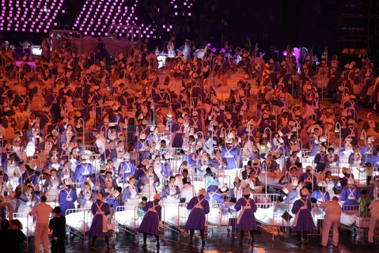 NHS at Olympic 2012 opening ceremony