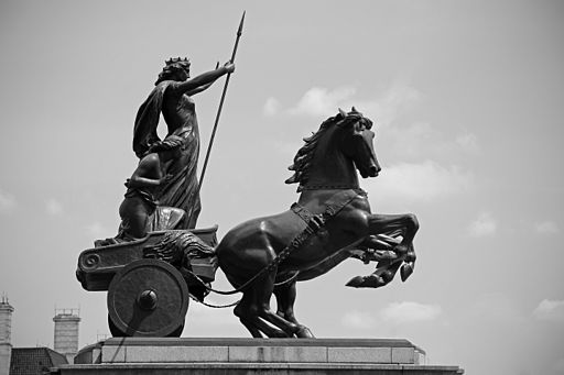 Boadicea_Statuary_Group