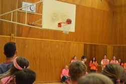 Moments before the game-winning shot
