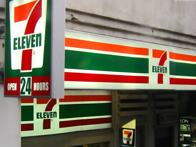 7-Eleven, one of the shops unaffected by the law Photo: wikimedia commons