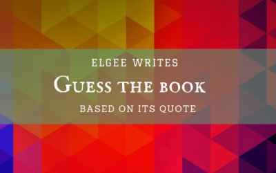 Can you guess the book from its quotes?
