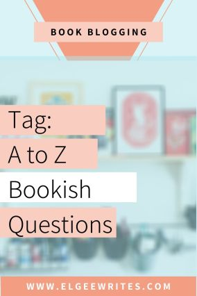 A-z Bookish questions Tag Pinterest me