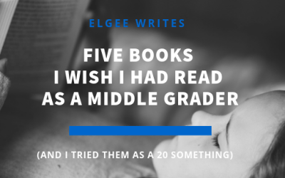 Five Books I Wish I Had Read As A Middle Grader