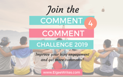 Join the Comment 4 Comment Challenge 2019!
