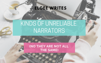 Kinds of unreliable narrators (No they are all not the same!)
